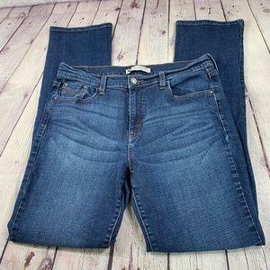 Levi's 505 Straight Leg Jeans Med Wash 12 L/C